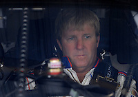 Mar 31, 2007; Martinsville, VA, USA; Nascar Nextel Cup Series driver Sterling Marlin (14) during practice for the Goody's Cool Orange 500 at Martinsville Speedway. Martinsville marks the second race for the new car of tomorrow. Mandatory Credit: Mark J. Rebilas