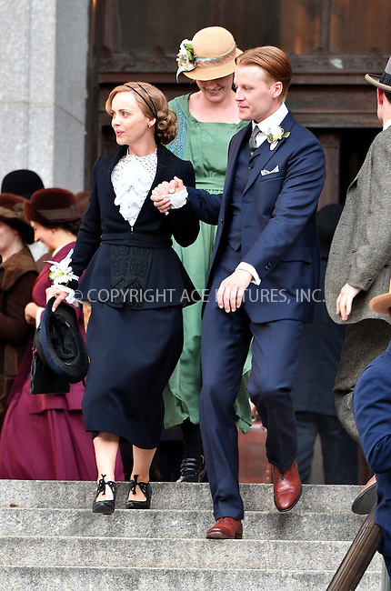 www.acepixs.com<br /> <br /> July 22 2016, New York City<br /> <br /> Actors Christina Ricci and David Hoflin were on the set of the new TV show 'Z: The Beginning of Everything' on July 22 2016 in New York City<br /> <br /> By Line: Curtis Means/ACE Pictures<br /> <br /> <br /> ACE Pictures Inc<br /> Tel: 6467670430<br /> Email: info@acepixs.com<br /> www.acepixs.com