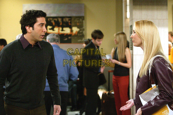 DAVID SCHWIMMER & LISA KUDROW.in Friends.Series Finale.Filmstill - Editorial Use Only.Ref: FB.sales@capitalpictures.com.www.capitalpictures.com.Supplied by Capital Pictures.