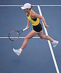 August  17, 2017:  Simona Halep (ROU) defeated Anastasia Sevastova (LAT) 6-4, 6-3, at the Western & Southern Open being played at Lindner Family Tennis Center in Mason, Ohio. ©Leslie Billman/Tennisclix/CSM