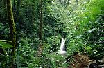 waterfall at Monteverde in Costa Rica