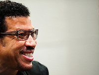 HONG KONG, CHINA - SEPTEMBER 27:  US singer/songwriter Lionel Richie attends a press conference a day before his special one-night concert, at the W Hotel on September 27, 2010 in Hong Kong.  Photo by Victor Fraile / studioEAST *** Local Caption *** Lionel Richie