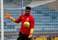 Jamal Blackman of Sheffield United (on loan from Chelsea) warms up during the Sky Bet Championship match between Millwall and Sheff United at The Den, London, England on 2 December 2017. Photo by Carlton Myrie / PRiME Media Images.