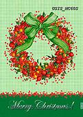 Ingrid, CHRISTMAS SYMBOLS, WEIHNACHTEN SYMBOLE, NAVIDAD SÍMBOLOS,wreath, paintings+++++,USISMC60S,#xx#