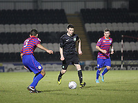 Gareth McDonagh in the St Mirren v Celtic Clydesdale Bank Scottish Premier League U20 match played at St Mirren Park, Paisley on 18.12.12..