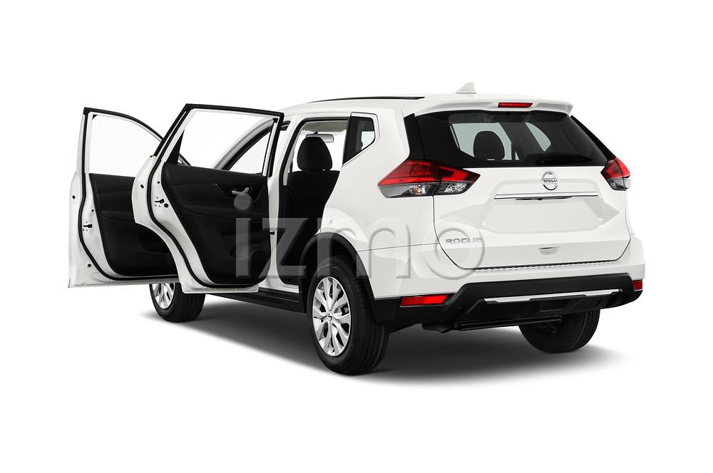 Car images of 2017 Nissan Rogue S 5 Door SUV Doors