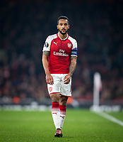Theo Walcott of Arsenal during the UEFA Europa League group stage match between Arsenal and FC Red Star Belgrade at the Emirates Stadium, London, England on 2 November 2017. Photo by Andy Rowland.
