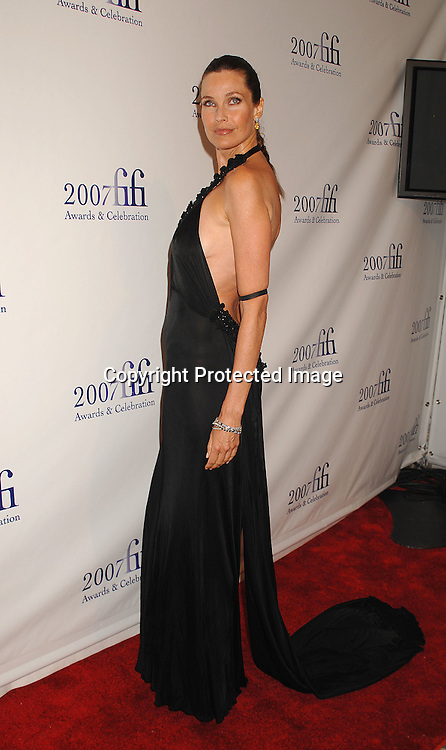 Carol Alt..posing for photographers at The Fragence Foundation FIFI Awards on May 31, 2007 at The Winter Garden. ..Robin Platzer, Twin Images......212-935-0770