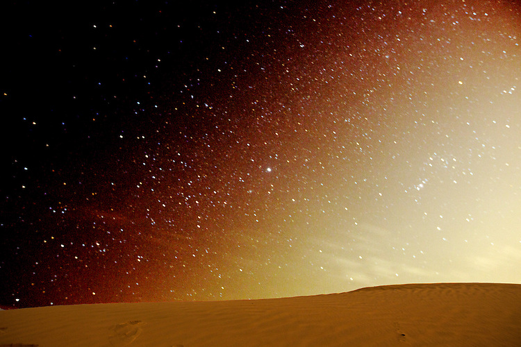 Stars and Desert Photography,