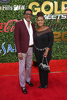 4 January 2020 - Beverly Hills, California - Judge Mathis, Linda Reese. the 7th Annual Gold Meets Golden Brunch  held at Virginia Robinson Gardens and Estate. Photo Credit: FS/AdMedia