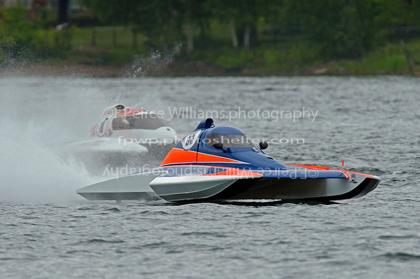 Alexis Weber, S-55   (2.5 Litre Stock hydroplane(s)