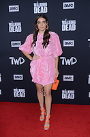 """LOS ANGELES - SEP 23:  Alanna Masterson at the """"The Walking Dead"""" Season 10 Premiere Event at the TCL Chinese Theater on September 23, 2019 in Los Angeles, CA"""