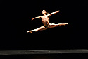 "Acosta Danza, the new dance company founded by Cuban dancer, Carlos Acosta, receives its UK premiere at Sadler's Wells. The piece shown is: ""El cruce sobre el Niagara"", choreographed by Marianela Boan. Picture shows: Alejandro Silva."