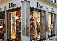 Dior retail clothing store, Venice, Italy