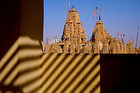 View of the Jain Temple in Jaisalmer, the &quot;Golden City,&quot; is located on the westernmost frontier of India in the state of Rajasthan. Close to the Pakistan border, the city is known for its proximity to the Thar Desert.<br />