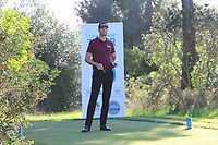 Sebastian Heisele (GER) on the 15th tee during Round 3 of the Challenge Tour Grand Final 2019 at Club de Golf Alcanada, Port d'Alcúdia, Mallorca, Spain on Saturday 9th November 2019.<br /> Picture:  Thos Caffrey / Golffile<br /> <br /> All photo usage must carry mandatory copyright credit (© Golffile | Thos Caffrey)