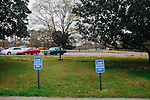 Parking at the Hale County Hospital Clinic in Greensboro, Alabama, seen March 1, 2013. The clinic is where Dr. Perry Timberlake works.