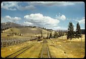Train on siding - Lobato area?<br /> D&amp;RGW  Lobato area ?, NM