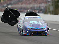 Mar 16, 2019; Gainesville, FL, USA; NHRA pro stock driver Shane Tucker during qualifying for the Gatornationals at Gainesville Raceway. Mandatory Credit: Mark J. Rebilas-USA TODAY Sports