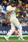 3rd December 2017, Adelaide Oval, Adelaide, Australia; The Ashes Series, Second Test, Day 2, Australia versus England; Shaun Marsh of Australia clips the ball off his legs for runs