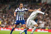 Cristiano Struggles with DEportivo de la Coruña defender