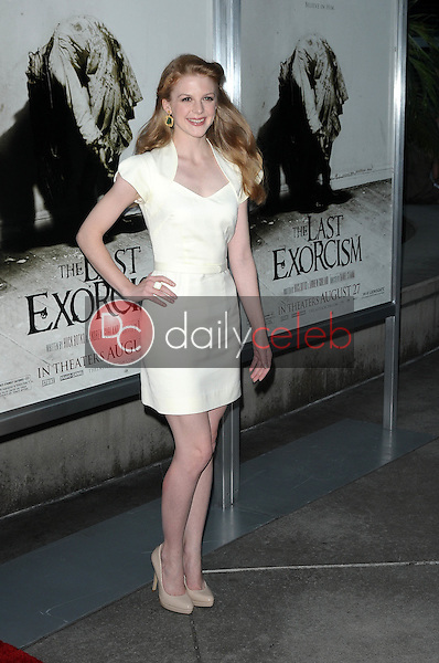 """Ashley Bell<br /> at a Special Screening of """"The Last Exorcism,"""" Arclight Theater, Hollywood, CA. 08-24-10<br /> David Edwards/Dailyceleb.com 818-249-4998"""
