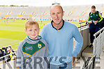 Eoghan and John Crowley (Abbeyfeale), pictured at the Kerry v Cork Munster Final held at Páirc Uí Chaoimh, Cork, on Saturday evening last.​