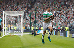 Tom Rogic scores the winner for Celtic and celebrates