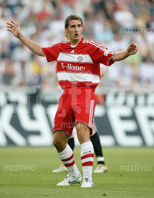 Fussball     1. Bundesliga            Saison 2007/2008 Miroslav KLOSE (FC Bayern Muenchen)