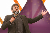 19th July 2019: Comedian Nish Kumar plays day one of the 2019 Latitude FEstival at Henham Park, Suffolk.
