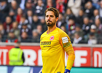Torwart Kevin Trapp (Eintracht Frankfurt) - 17.02.2019: Eintracht Frankfurt vs. Borussia Mönchengladbach, Commerzbank Arena, 22. Spieltag Bundesliga, DISCLAIMER: DFL regulations prohibit any use of photographs as image sequences and/or quasi-video.