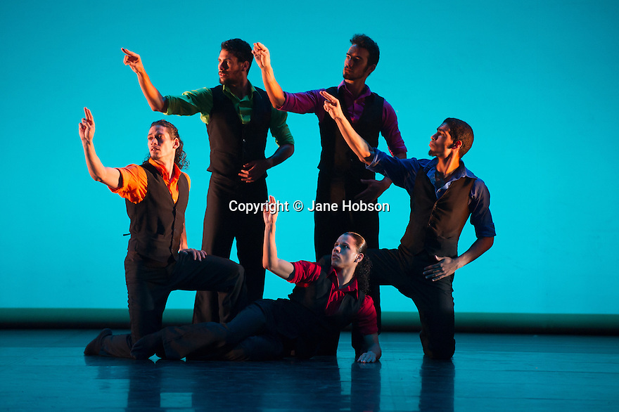 Danza Contemporanea de Cuba open at Sadler's Wells after a six week tour. The cast performs in Carmen?! by Kenneth Kvarnstrom.