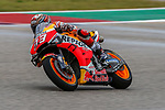 Marc Marquez (93) in action before the Red Bull Grand Prix of the Americas race at the Circuit of the Americas racetrack in Austin,Texas.