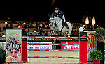 Maikel van der Vleuten of Netherlands riding VDL Groep Eureka in action during the Longines Speed Challenge competition as part of the Longines Hong Kong Masters on 13 February 2015, at the Asia World Expo, outskirts Hong Kong, China. Photo by Li Man Yuen / Power Sport Images