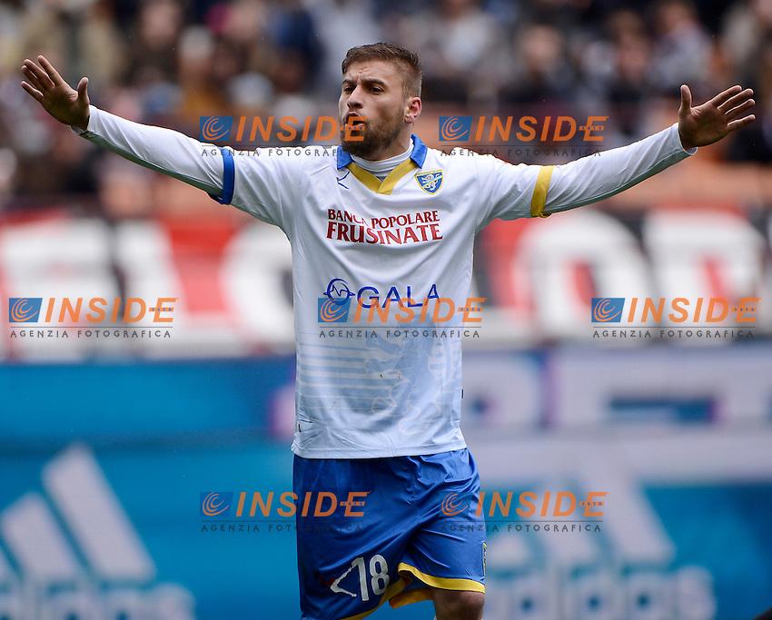 Federico Dionisi Frosinone<br /> Milano 01-05-2016 Stadio Giuseppe Meazza - Football Calcio Serie A Milan - Frosinone. Foto Giuseppe Celeste / Insidefoto