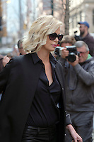 www.acepixs.com<br /> <br /> February 8 2017, New York City<br /> <br /> Actress Charlize Theron arrives at a downtown hotel on February 8 2017 in New York City<br /> <br /> By Line: Curtis Means/ACE Pictures<br /> <br /> <br /> ACE Pictures Inc<br /> Tel: 6467670430<br /> Email: info@acepixs.com<br /> www.acepixs.com