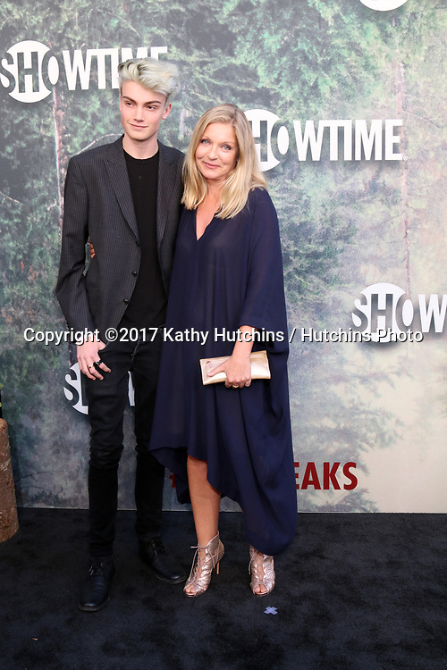 "LOS ANGELES - MAY 19:  Elijah Diamond, Sheryl Lee at the ""Twin Peaks"" Premiere Screening at The Theater at Ace Hotel on May 19, 2017 in Los Angeles, CA"