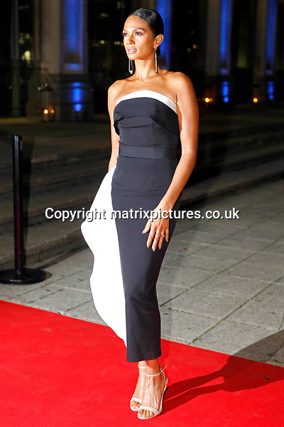 NON EXCLUSIVE PICTURE: MATRIXPICTURES.CO.UK<br /> PLEASE CREDIT ALL USES<br /> <br /> WORLD RIGHTS<br /> <br /> Alesha Dixon is pictured as she attends the Britain's Got Talent Childline Ball at Old Billingsgate Market in London.<br /> <br /> SEPTEMBER 28th 2017<br /> <br /> REF: WBD 172253