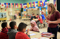 February 3rd, 2016-  Seattle University Youth Initiative at Bailey Gatzert Elementary School. <br />