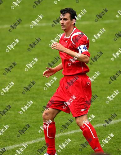 2008-08-14 / Voetbal / seizoen 2008-2009 / Tubantia Borgerhout / Kevin Stickens..Foto: Maarten Straetemans (SMB)