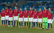 23rd March 2018, Ullevaal Stadion, Oslo, Norway; International Football Friendly, Norway versus Australia; Norway team line up