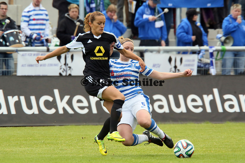 Fatmire Aluhi (FFC) gegen Andrea Hellfeier (MSV) - 1. FFC Frankfurt vs. MSV Duisburg