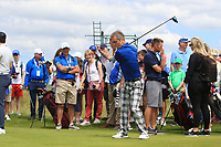 Jimmy Nesbitt (AM) on the 2nd during the Pro-Am of the Irish Open at LaHinch Golf Club, LaHinch, Co. Clare on Wednesday 3rd July 2019.<br /> Picture:  Thos Caffrey / Golffile<br /> <br /> All photos usage must carry mandatory copyright credit (© Golffile | Thos Caffrey)