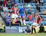 Sheffield United's Jake Wright in action during the League One match at the Priestfield Stadium, Gillingham. Picture date: September 4th, 2016. Pic David Klein/Sportimage