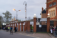 A general view of Craven Cottage, home of Fulham before the game against Blackburn Rovers<br /> <br /> Photographer /Ashley WesternCameraSport<br /> <br /> The EFL Sky Bet Championship - Fulham v Blackburn Rovers - Tuesday 14th March 2017 - Craven Cottage - London<br /> <br /> World Copyright &copy; 2017 CameraSport. All rights reserved. 43 Linden Ave. Countesthorpe. Leicester. England. LE8 5PG - Tel: +44 (0) 116 277 4147 - admin@camerasport.com - www.camerasport.com