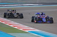 1st December 2019; Yas Marina Circuit, Abu Dhabi, United Arab Emirates; Formula 1 Abu Dhabi Grand Prix, race day; Scuderia Toro Rosso, Daniil Kvyat - Editorial Use