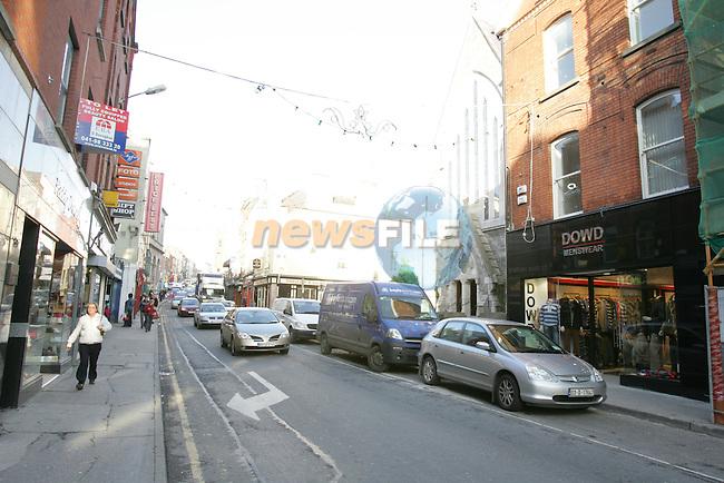 streets of Drogheda.Photo: Fran Caffrey/ Newsfile.<br />