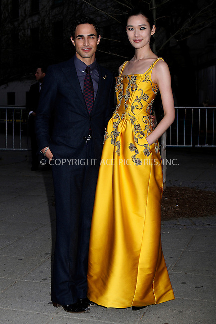WWW.ACEPIXS.COM....April 16, 2013...New York City........Tao Okamoto and Zac Posen attend the Vanity Fair Party 2013 Tribeca Film Festival Opening Night Party held at the New York State Supreme Courthouse onon April 16, 2013 in New York City ....By Line: Nancy Rivera/ACE Pictures......ACE Pictures, Inc...tel: 646 769 0430..Email: info@acepixs.com..www.acepixs.com