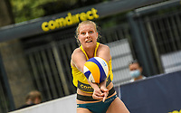 19th July 2020; Dusselldorf, Germany; Comdirect beach volleyball tour;  Sarah Schneider comdirect beach tour 2020