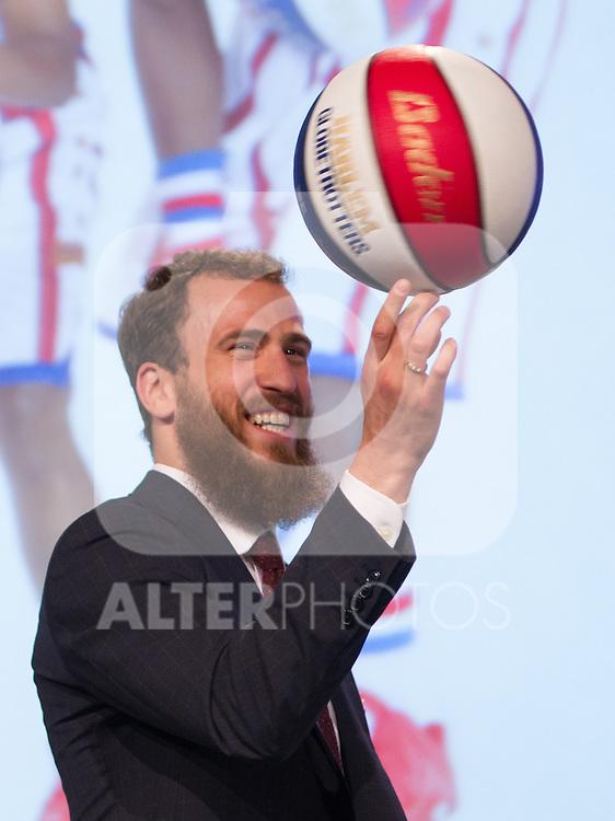 Sergio Rodriguez during presentation of the Liga Endesa playoff. May 23,2016. (ALTERPHOTOS/Rodrigo Jimenez)